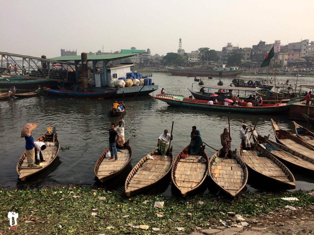 Barcas y barqueros