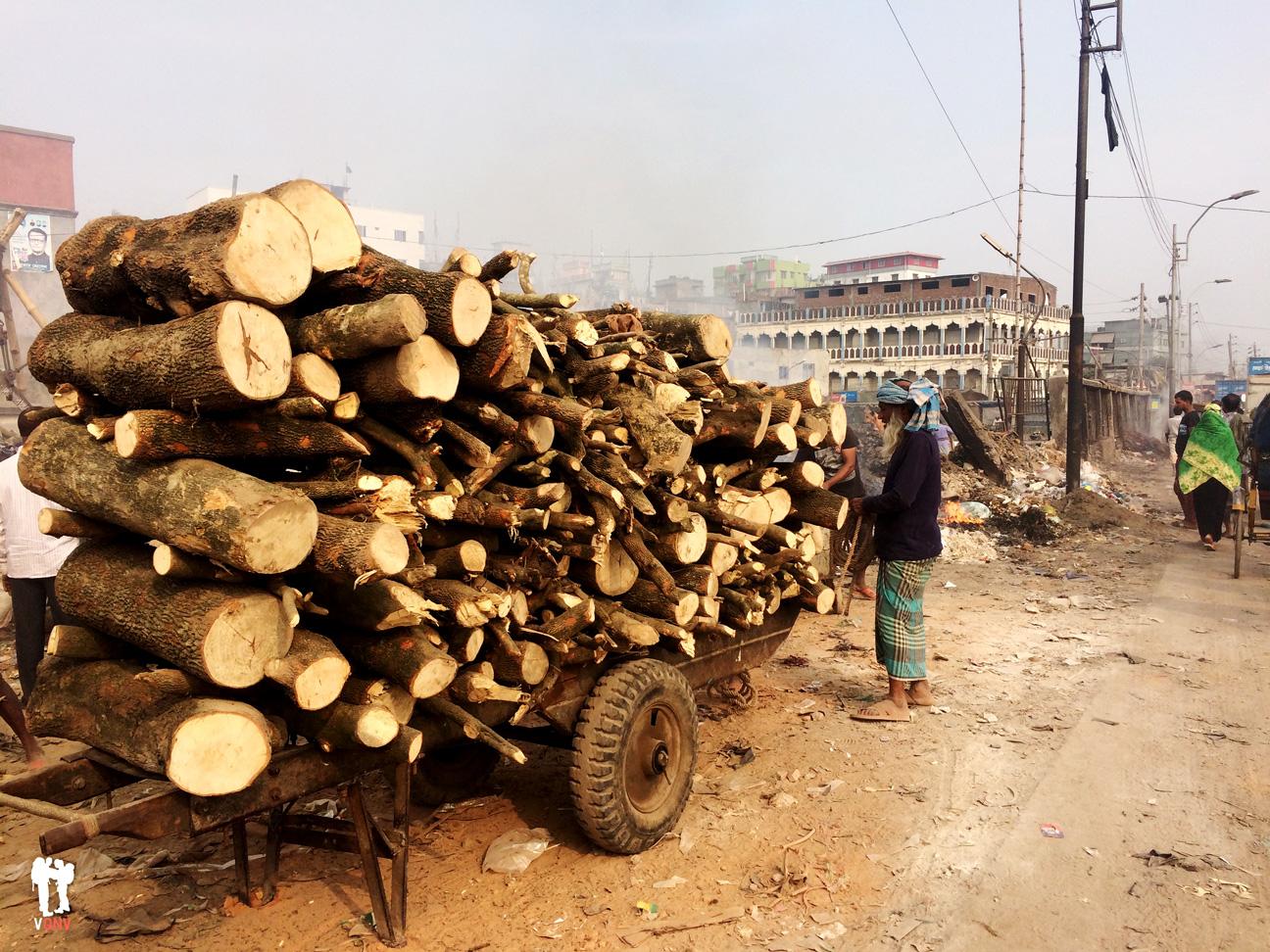 Corte de troncos