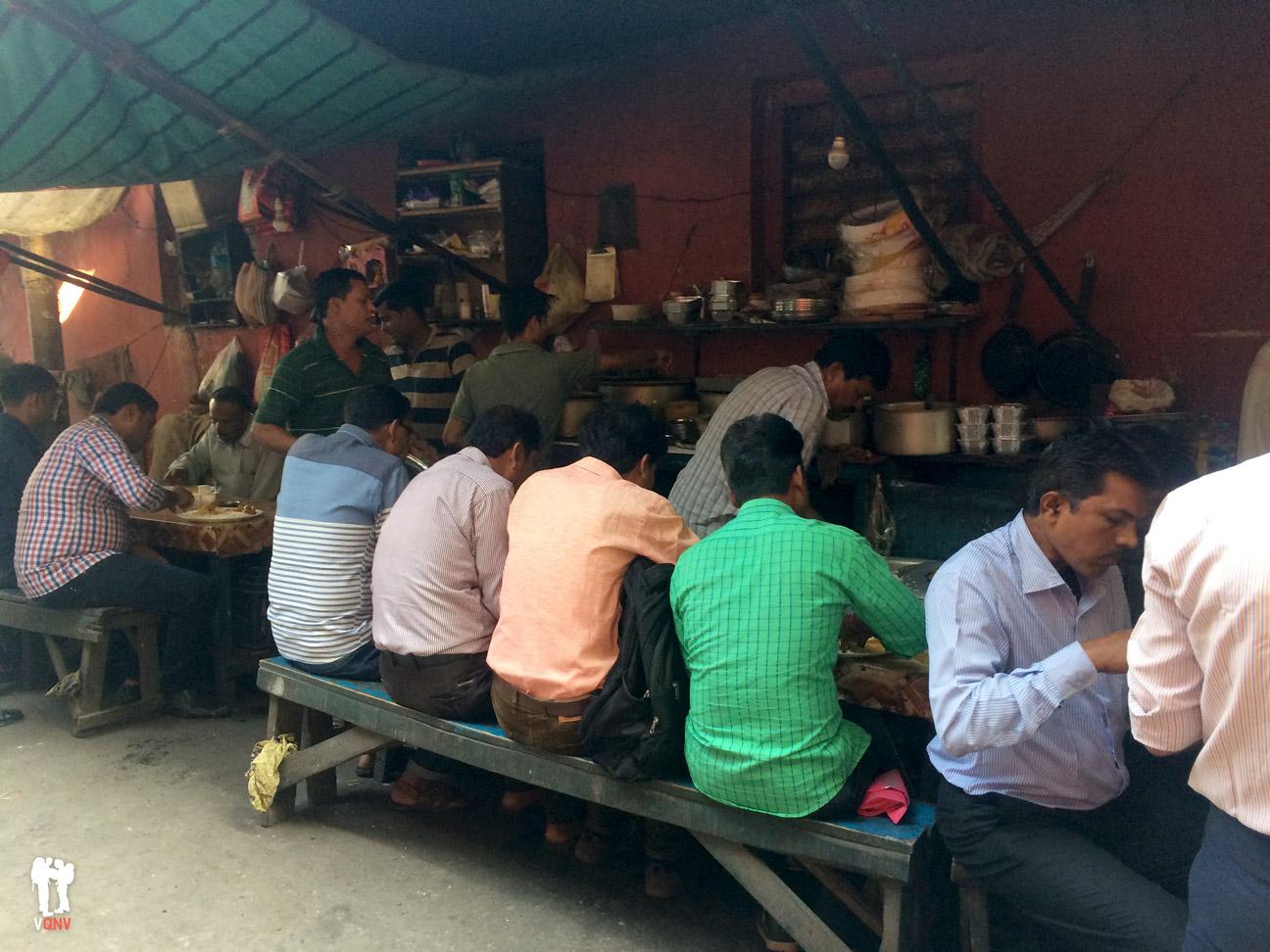 Sabrosa comida callejera