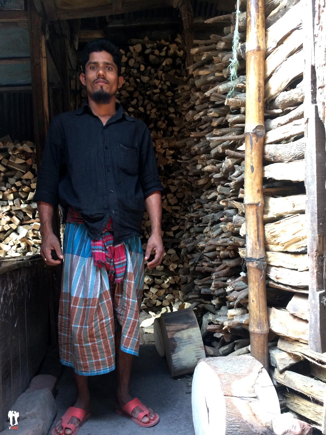 Vendedor de madera
