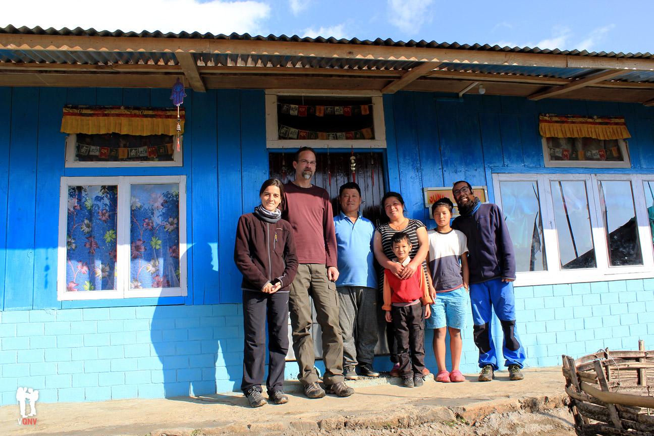 Familia en Kecheopalri