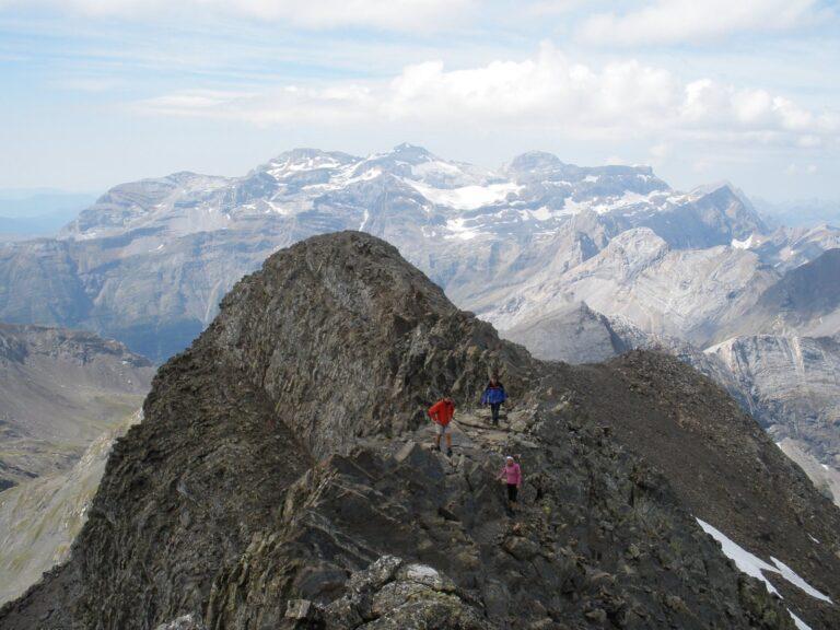 Últimos pasos antes de llegar a la cima