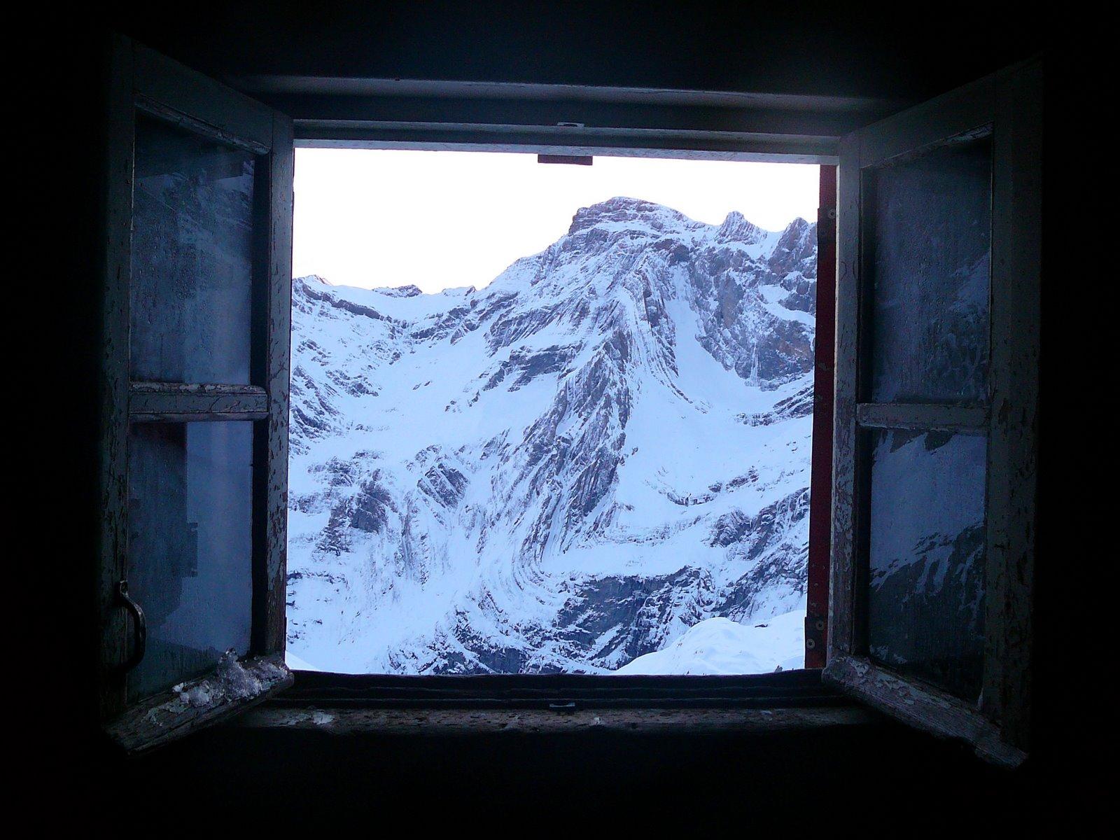 Ojala tuviéramos estas vistas desde las ventanas de nuestras propias casas