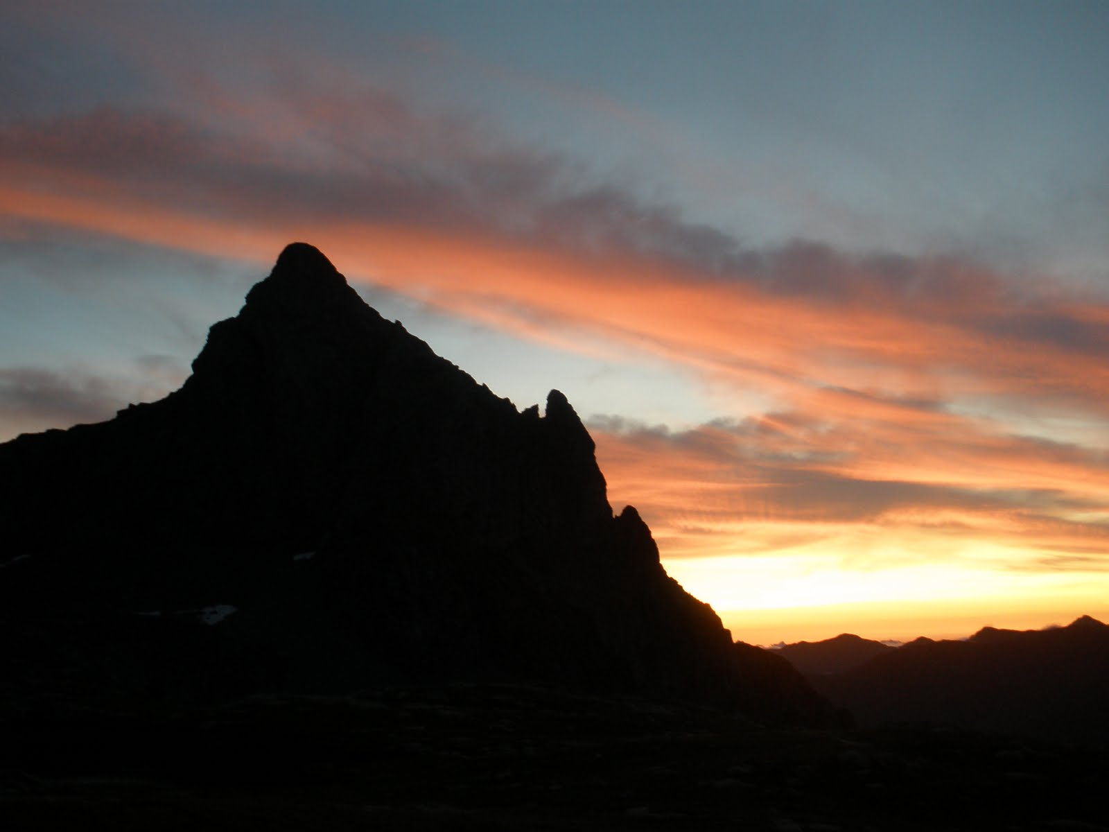 Atardecer en el Pico de Anayet