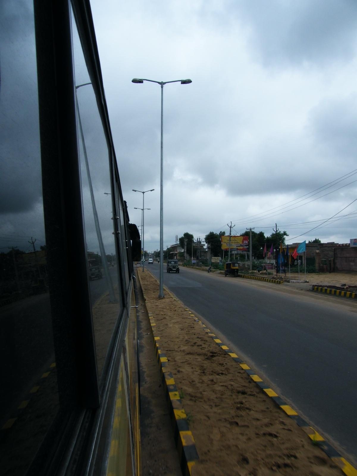 Desplazándonos en autobús de una ciudad a otra