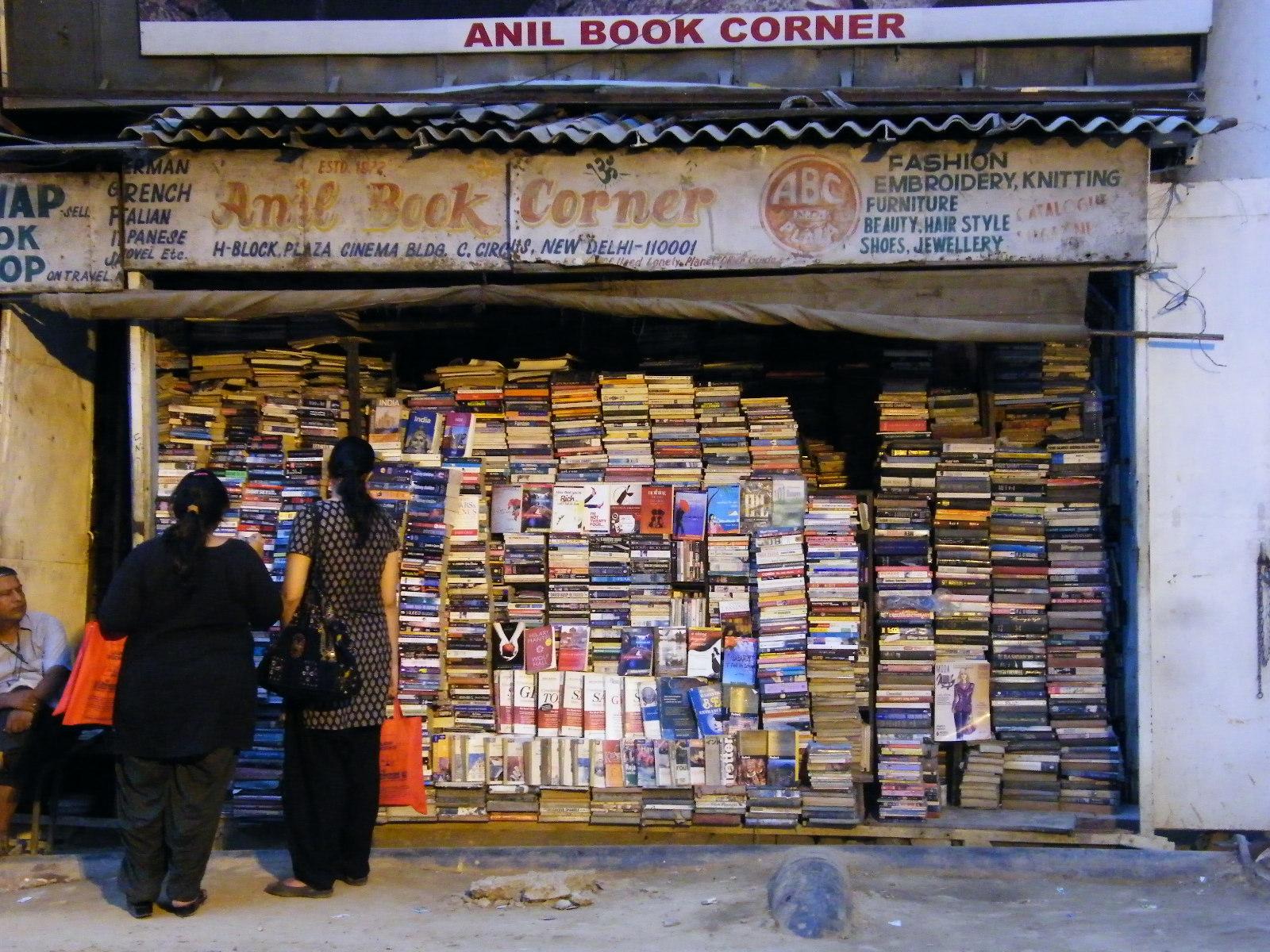 Libreria en Delhi