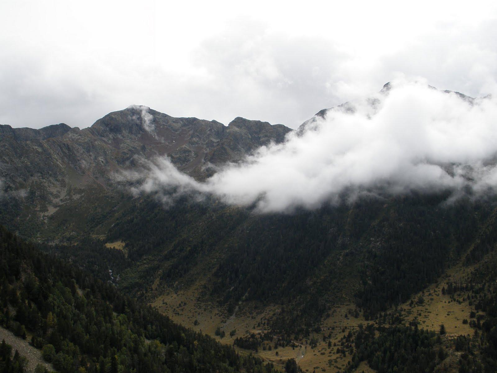 Buena perspectiva del valle