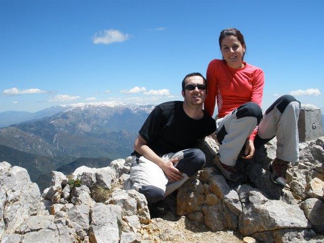 Foto cima. Pollegó Superior 2506m