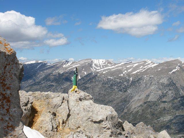 Pollegó Superior con vistas a la Sierra del Cadí-Moixeró