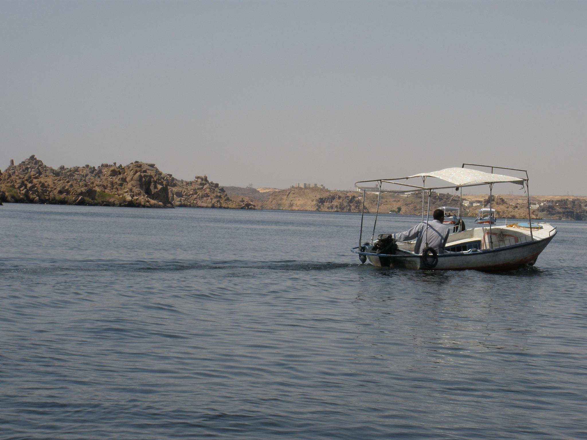 Barcas del Nilo