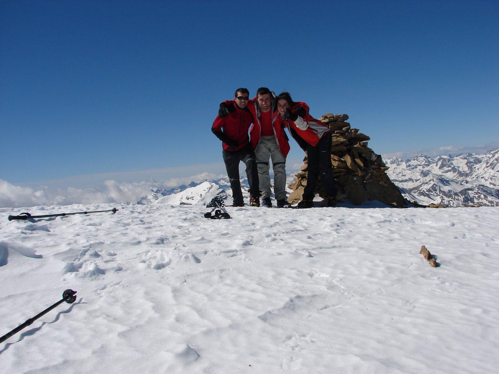 Foto cima. Marboré a 3251 metros
