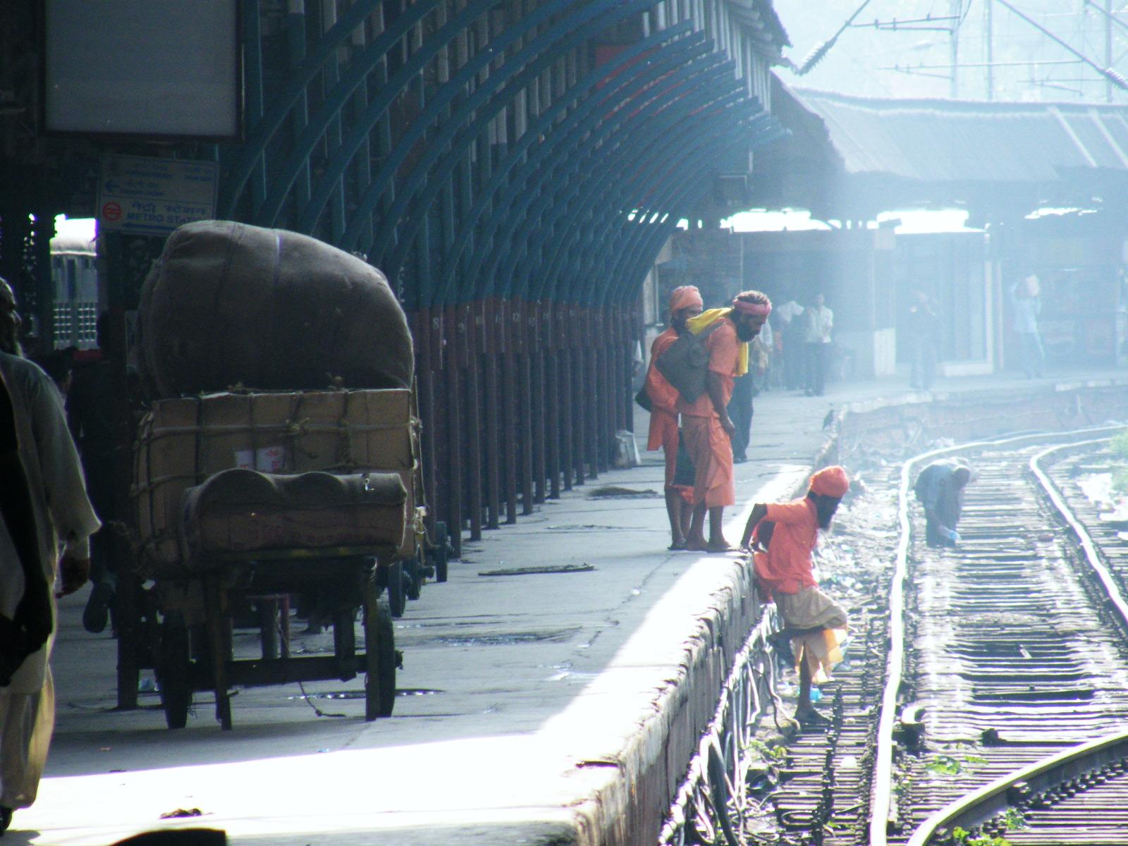 Estación de Old Delhi