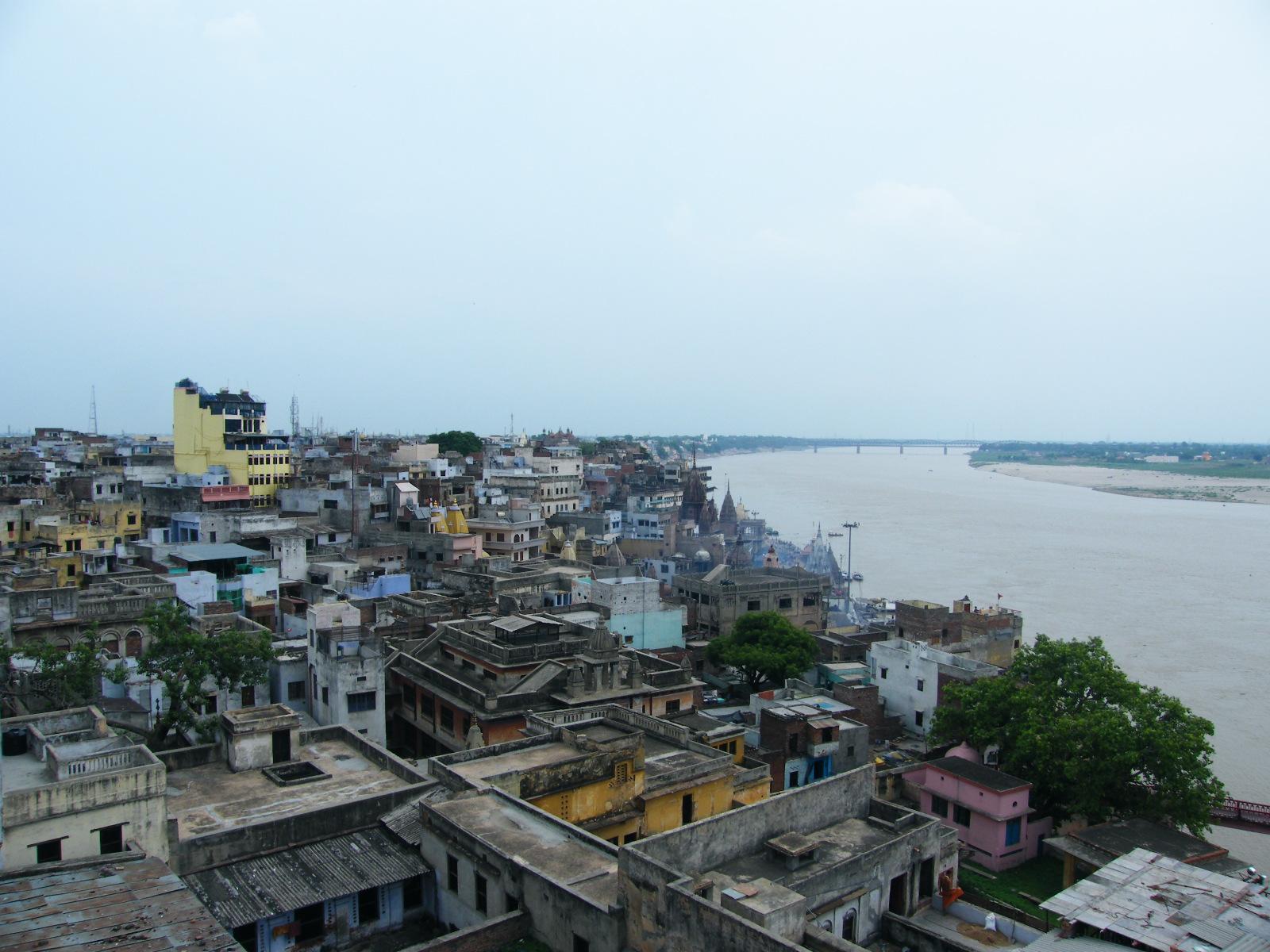Vistas de Varanasi o Benarés