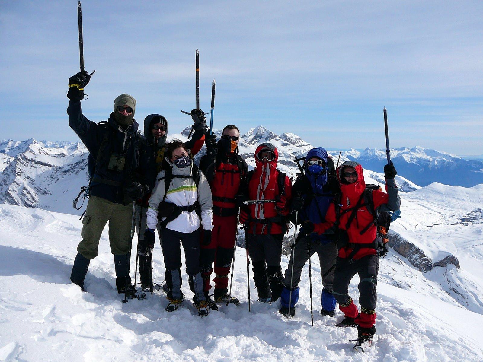 Foto cima. Taillon 3144 metros