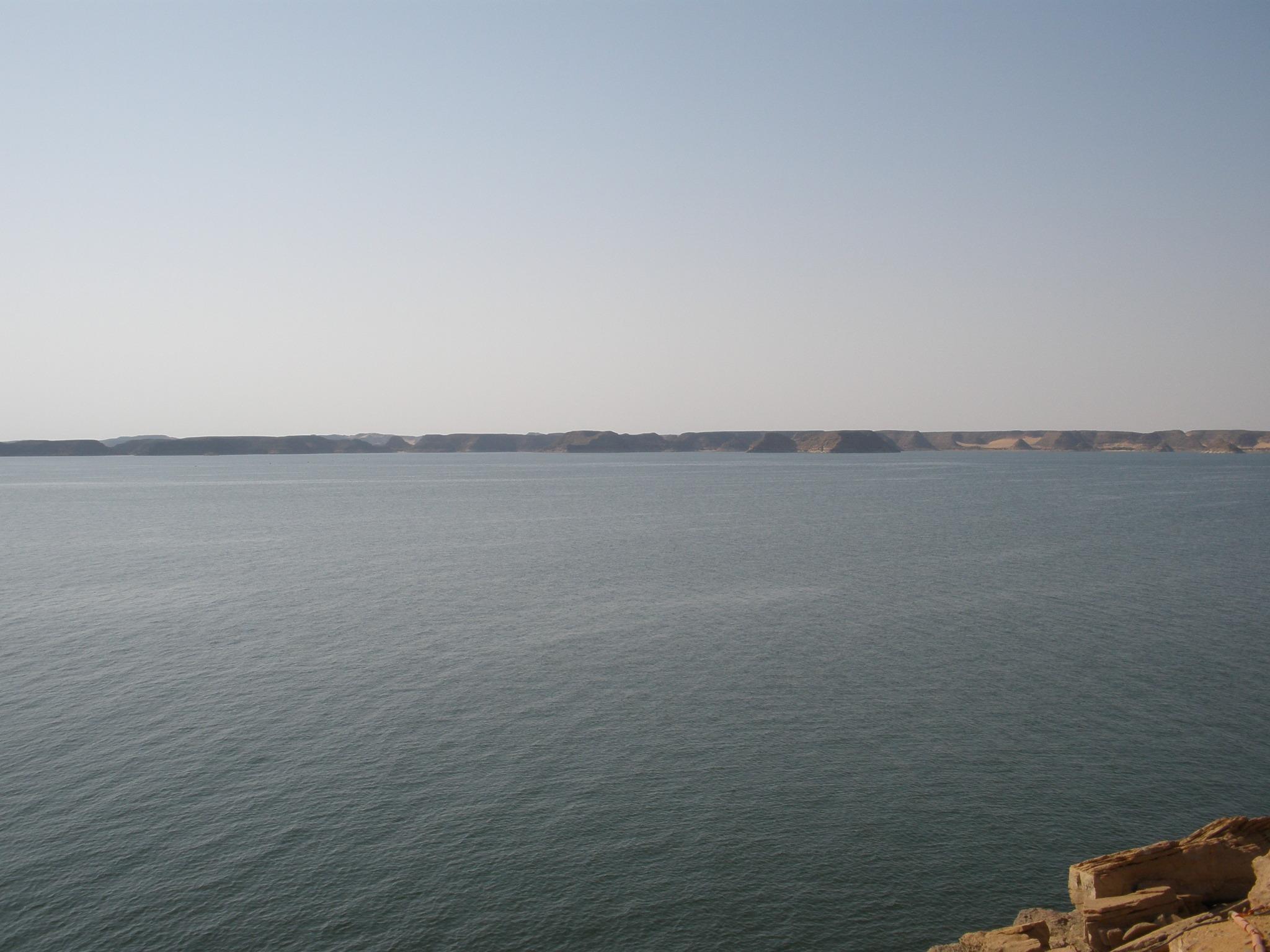 Presa de Aswan - Lago Nasser