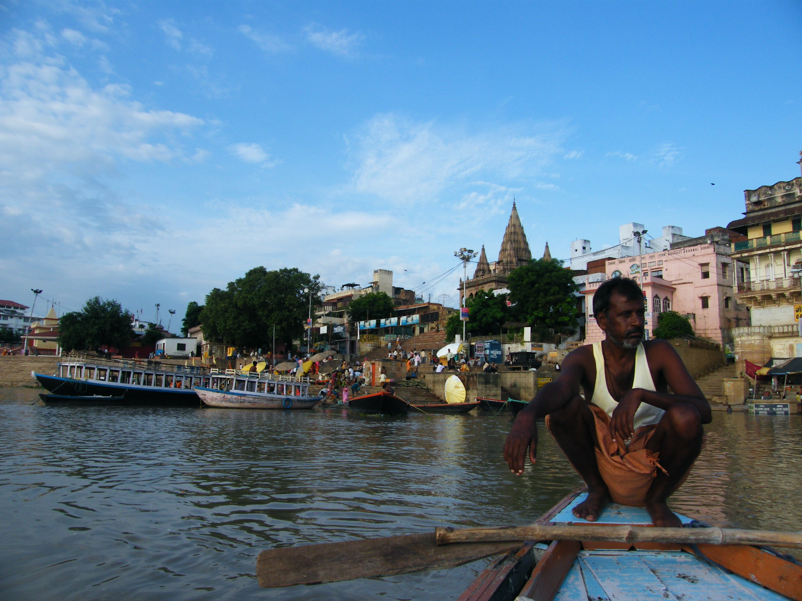 Río Ganges, Varanasi