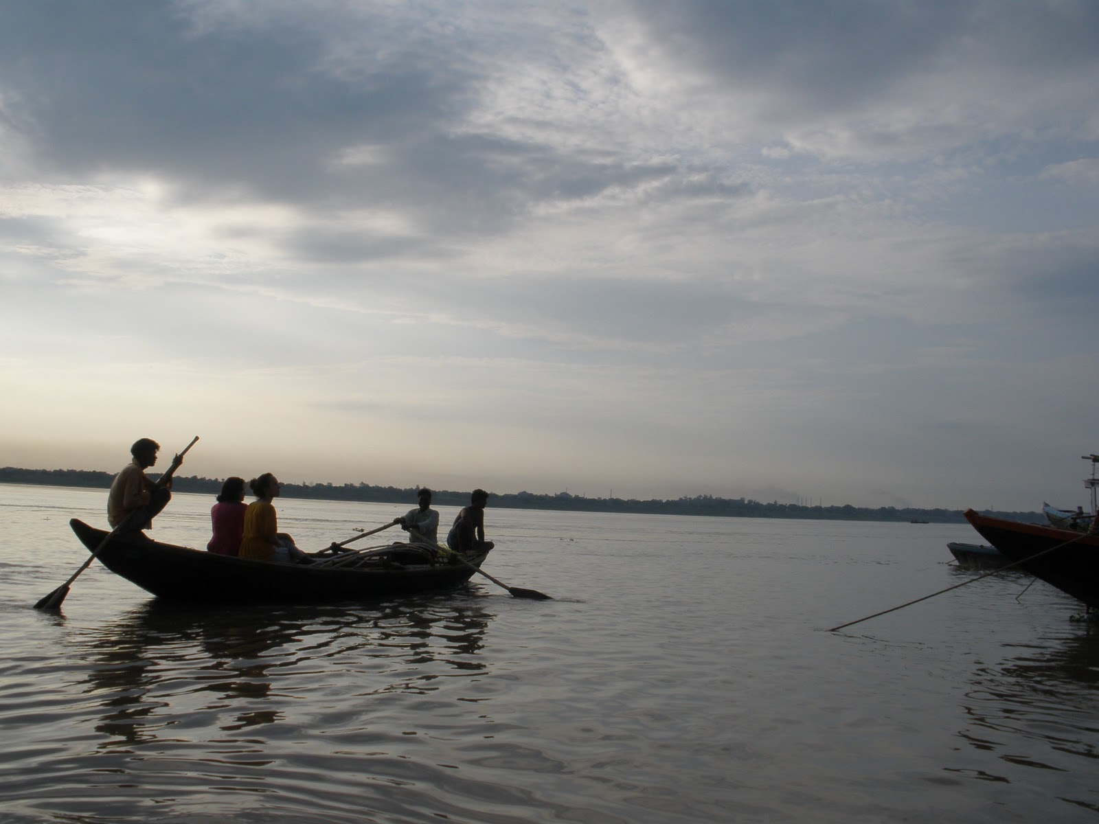 Paseo en barca en Varanasi