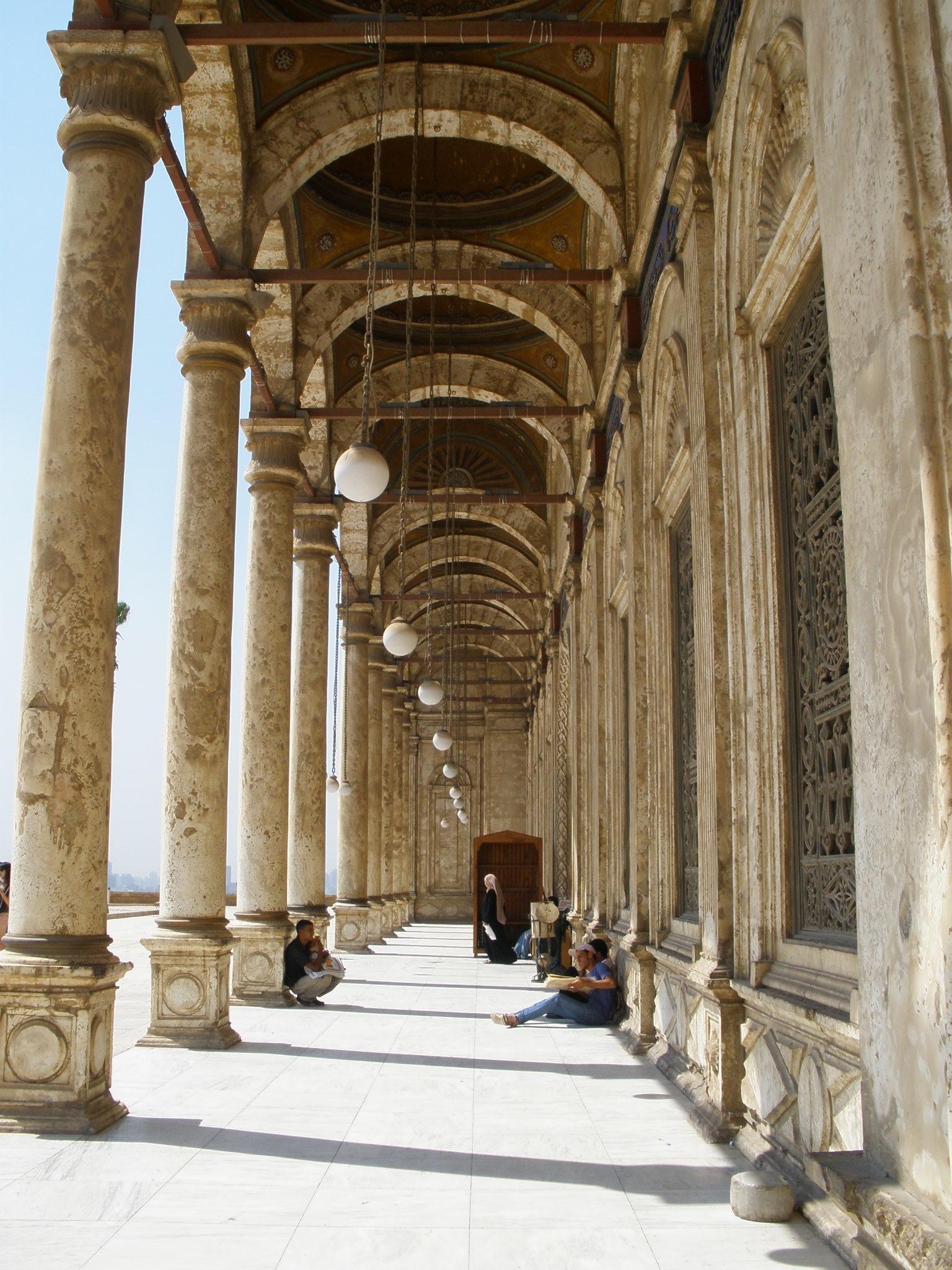 La Ciudadela. Mezquita de Alabastro.