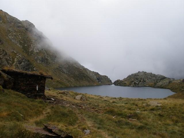 Cabaña y Estany de Sotllo