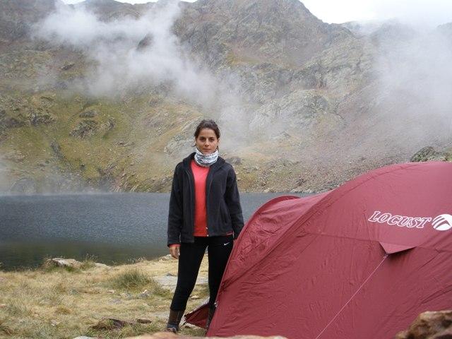 Estany d'Estats a 2465m de altura