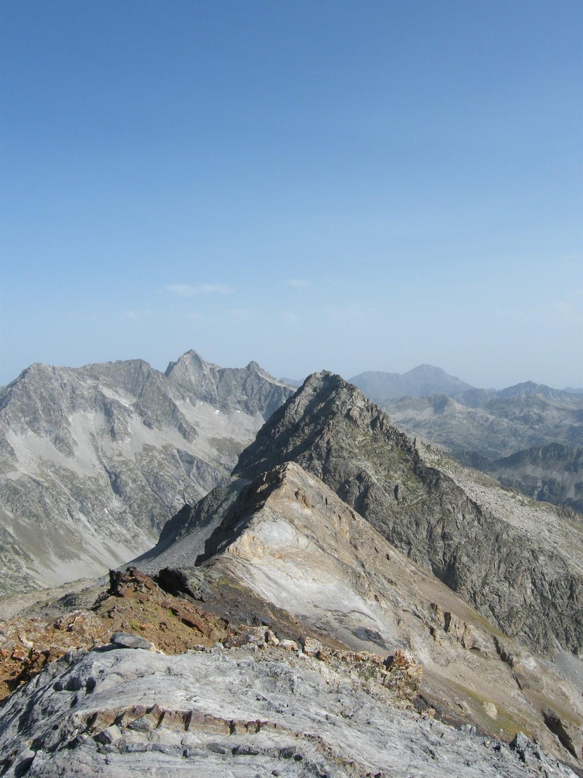 Vistas desde el Pic d'Estaragne